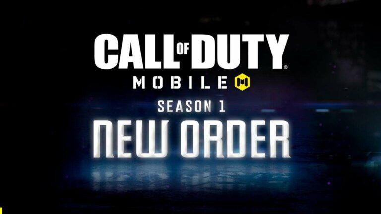Call of Duty Mobile, Season 1: New Order ya disponible