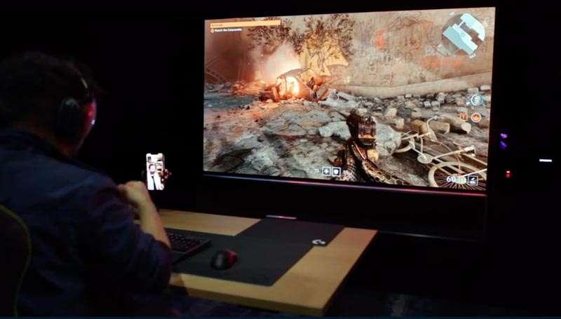 Entretenimiento LG CES 2021 pantalla para GAMERS
