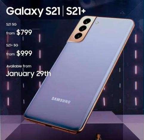 Galaxy S21 precio en dólares