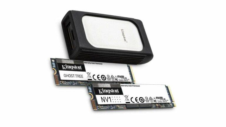 Kingston presentará en el CES 2021 las SSD NVMe de próxima generación
