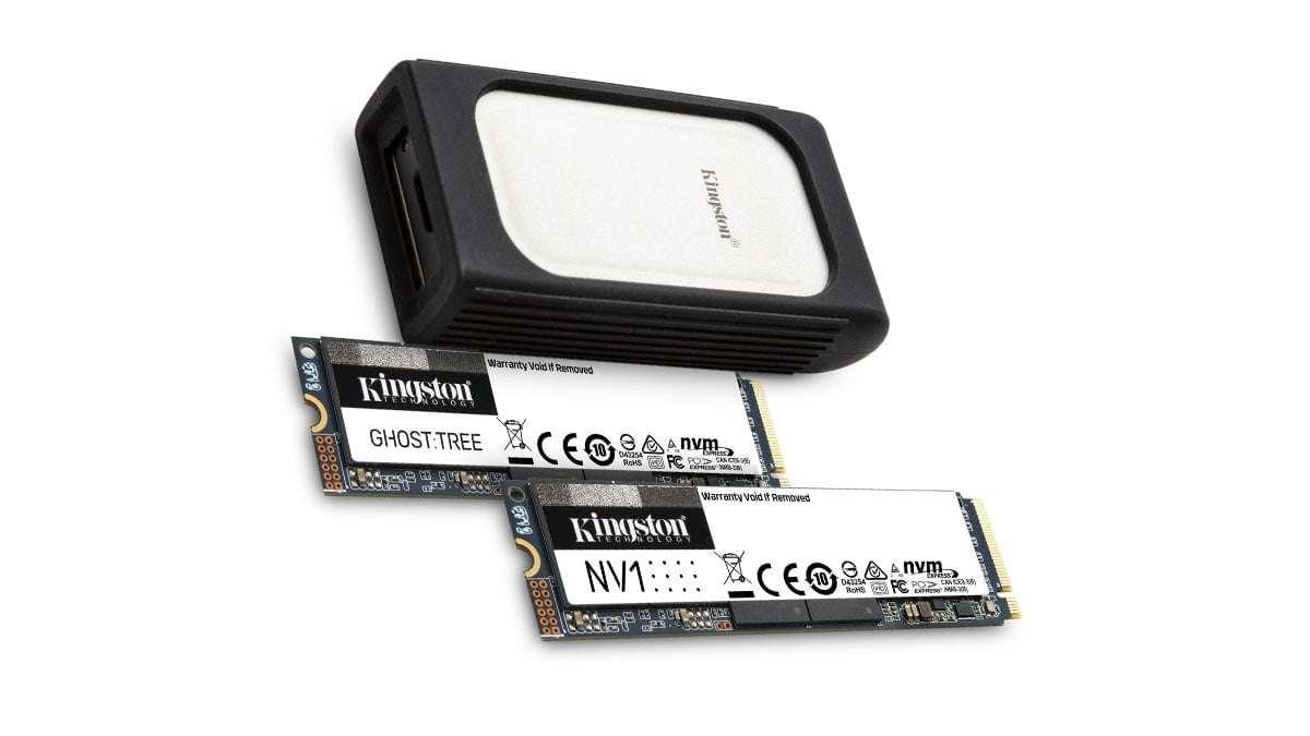 Kingston SSD NVMe presentación en el CES 2021