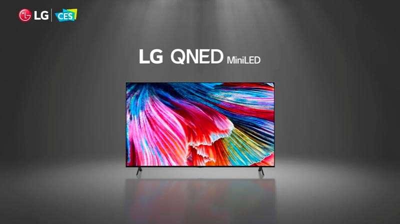 LG QNED MiniLed OLED 2021