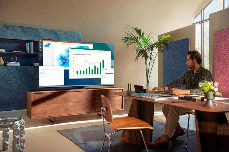 Neo QLED TV para el trabajo en casa