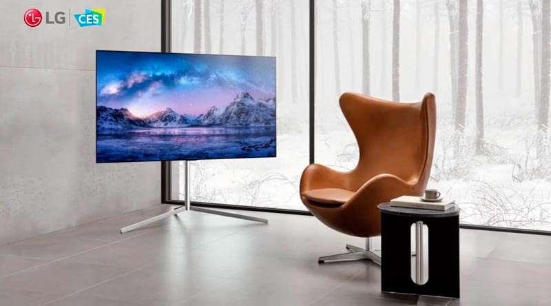TV OLED CES 2021