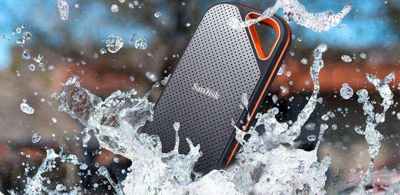 SanDisk Xtreme Pro 2020 resistente al agua