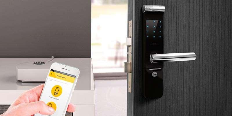 Yale cerradura digital, compatible con smartphones