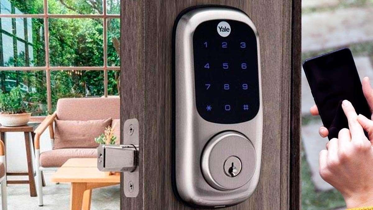 Yale cerradura inteligente, seguridad en el hogar