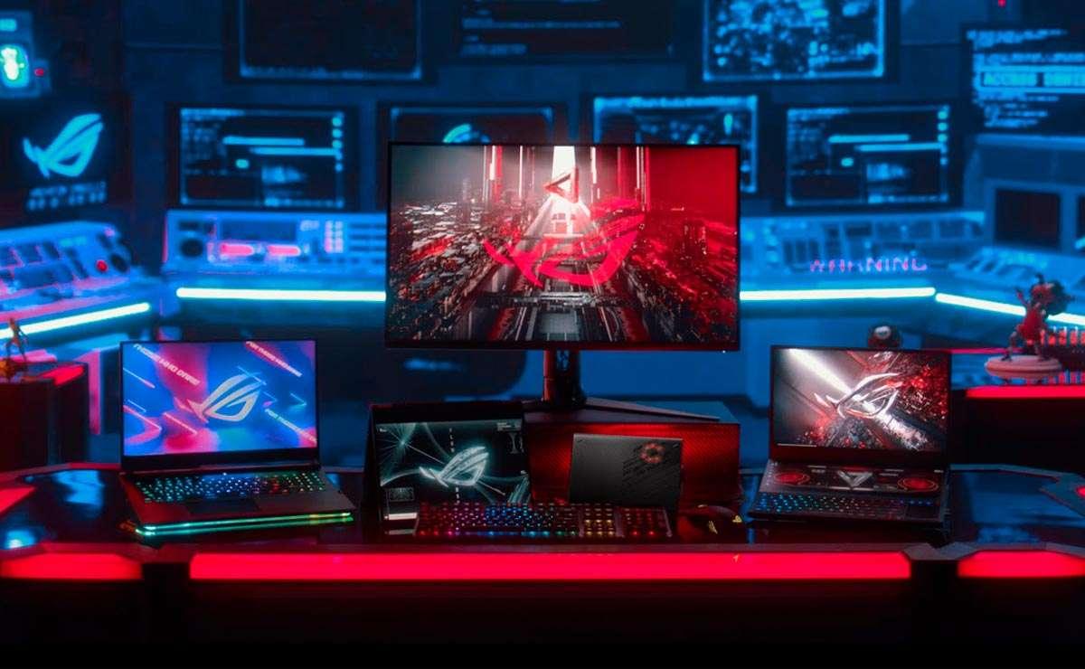 Asus ROG lideran el mercado de laptops a nivel mundial