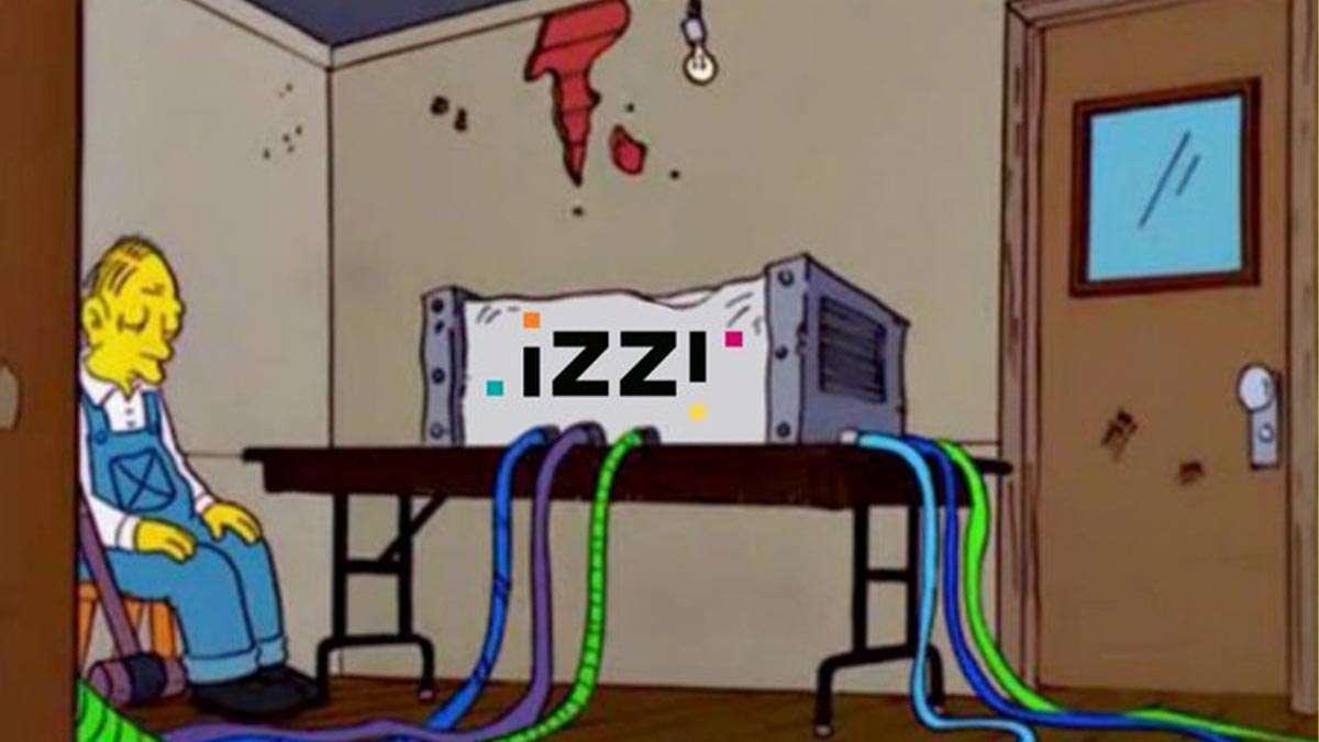 Memes de la caída de internet de Izzi