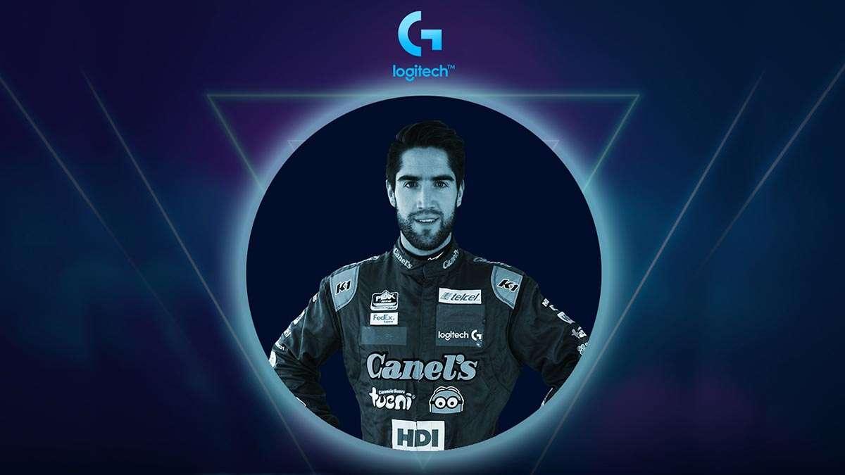 LogitechGrand Prix, participa el piloto Rubén García Jr.
