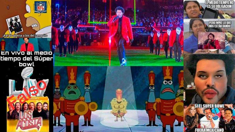 Los mejores memes de «The Weeknd» en el medio tiempo del Super Bowl 2021
