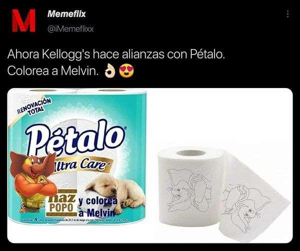 Meme Kellogs sigue el ejemplo de bimbo
