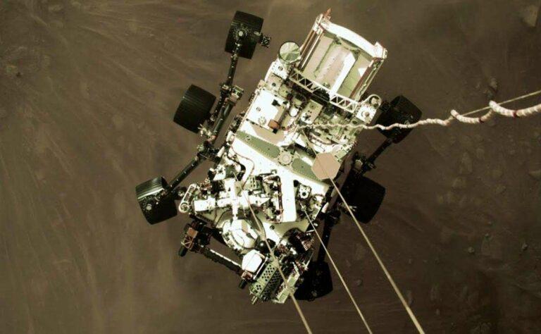 Aquí podrás ver el nuevo video enviado desde Marte