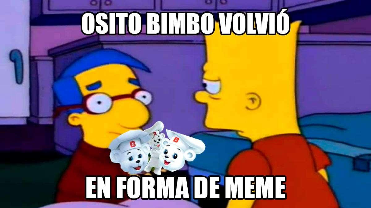 Meme, ¿Te acuerdas del Osito Bimbo?, Volvió, en forma de meme