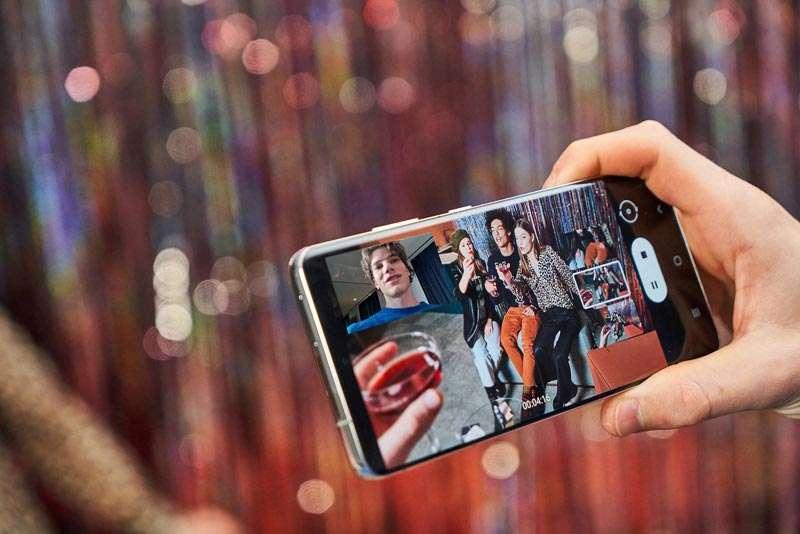 Grabando video con el Galaxy S21