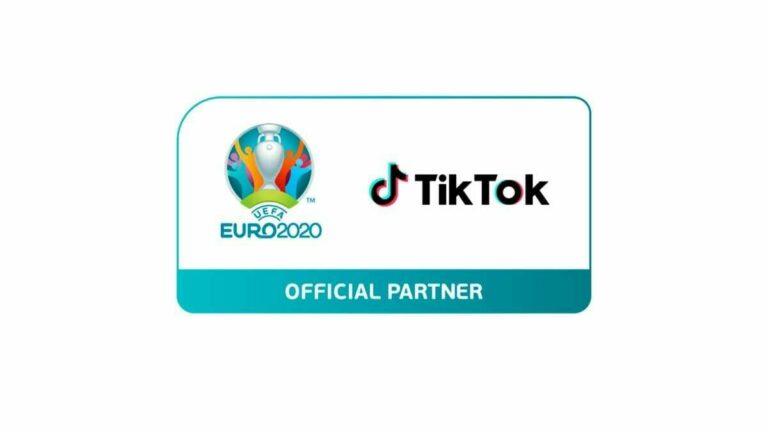 TikTok se asocia con la UEFA Euro 2020
