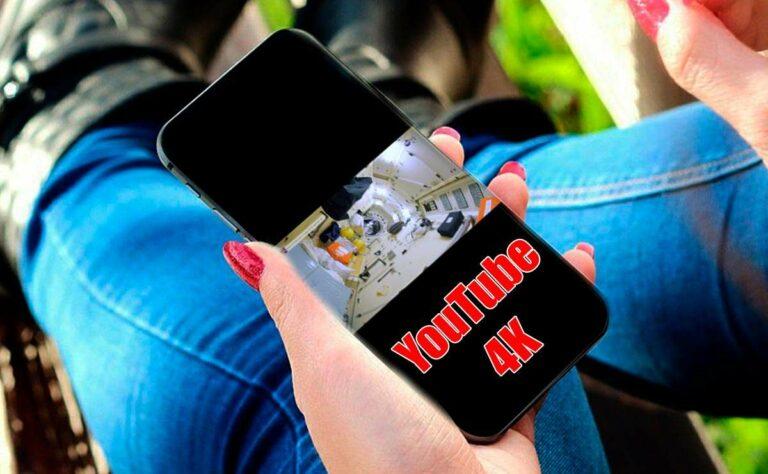 YouTube 4K llega a tu teléfono