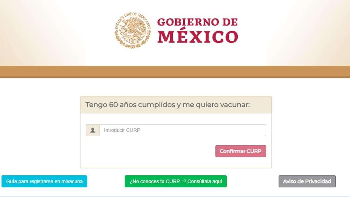 portal Mi Vacuna (para iniciar proceso de vacunación), ya está disponible