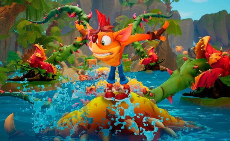 Crash Bandicoot 4 llega a PS5 Xbox Series X/S y Nintendo Switch