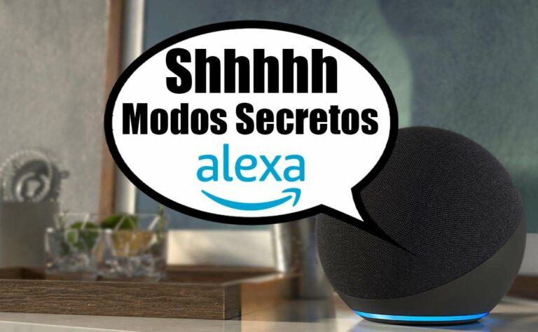 11 Modos Secretos de Amazon Alexa (comandos) que deberías conocer y cómo activarlos (+bonus)