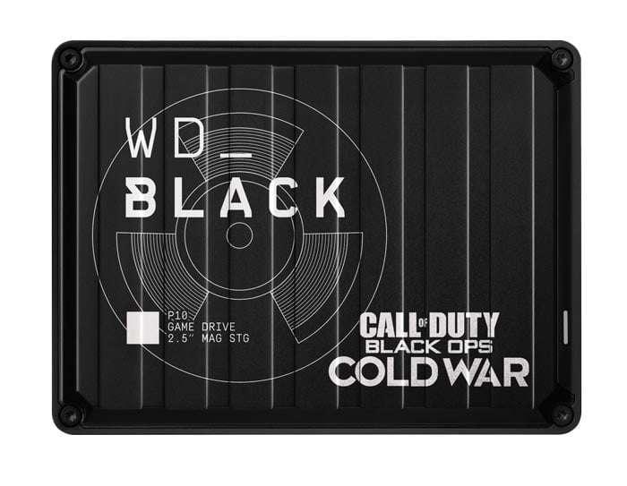 Cod Black P10 Game Drive