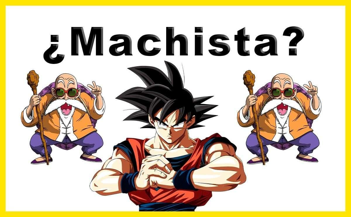 Dragon Ball acusado de machista, sálvanos Goku