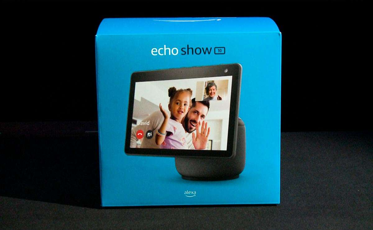 Echo Show 10, Unboxing, review en español