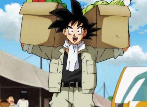 Goku trabaja en el campo (serie de TV)