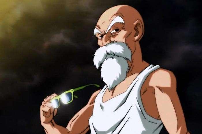 Maestro Roshi de Dragon Ball Super