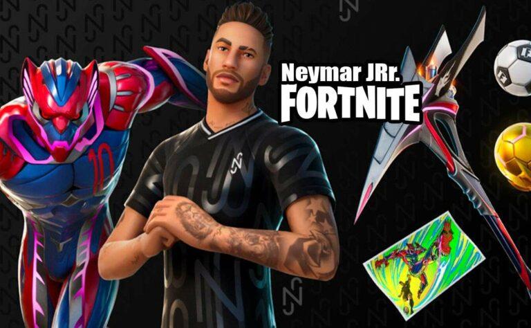Neymar Jr. en Fortnite, ¿Cómo desbloquear la skin futbolista brasileño?