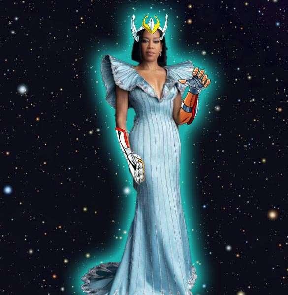 Oscars 2021 memes   Regina King, armadura caballeros del Zodiaco