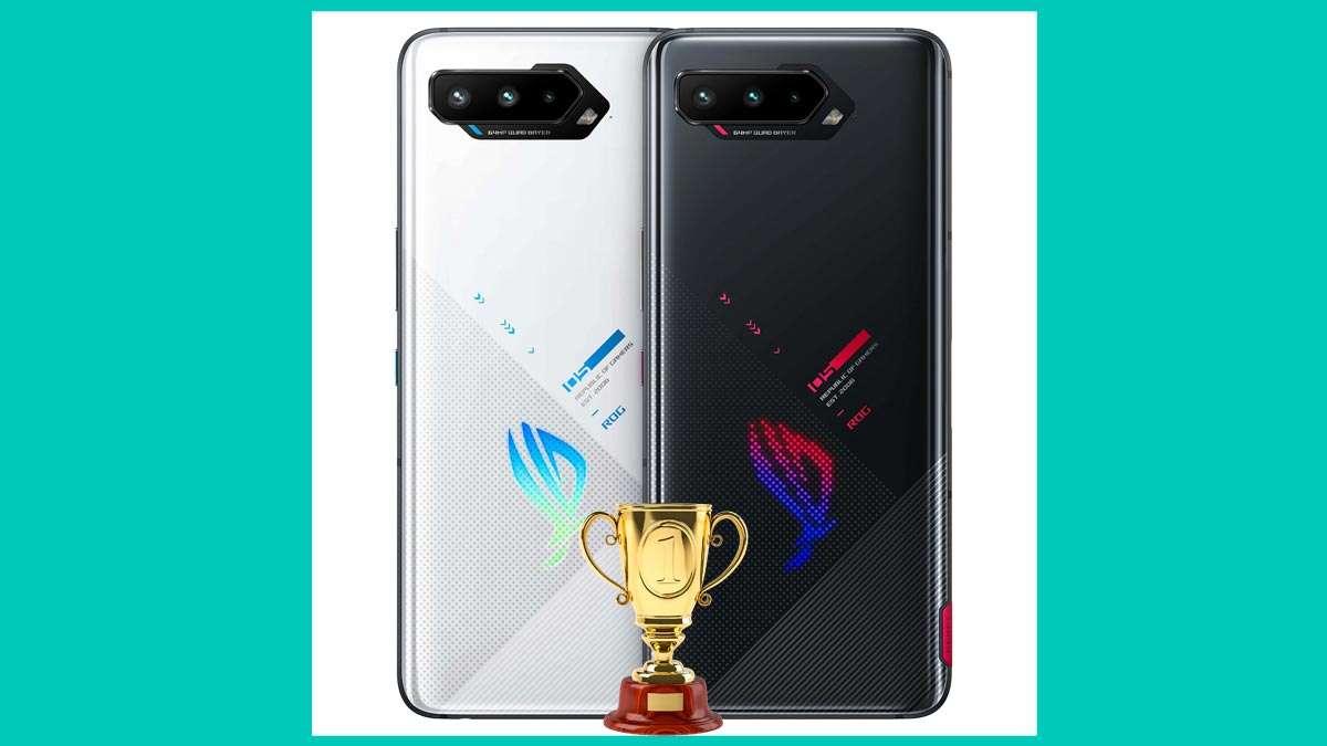 ROG Phone 5 de ASUS con galardón iF