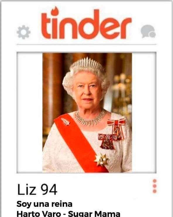 Tinder Elizabeth II   Tinder Elizabeth II