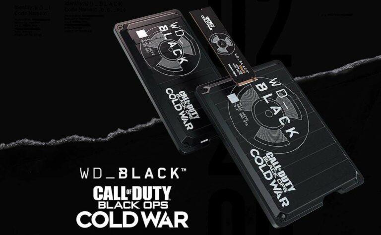 Call of Duty y Western Digital te dan más espacio y más puntos en el juego