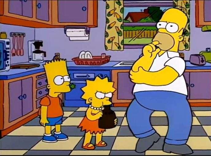 Lisa no se interrumpe un baile