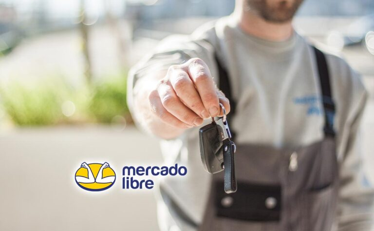 Mercado Libre al comprar un carro da garantías gratis
