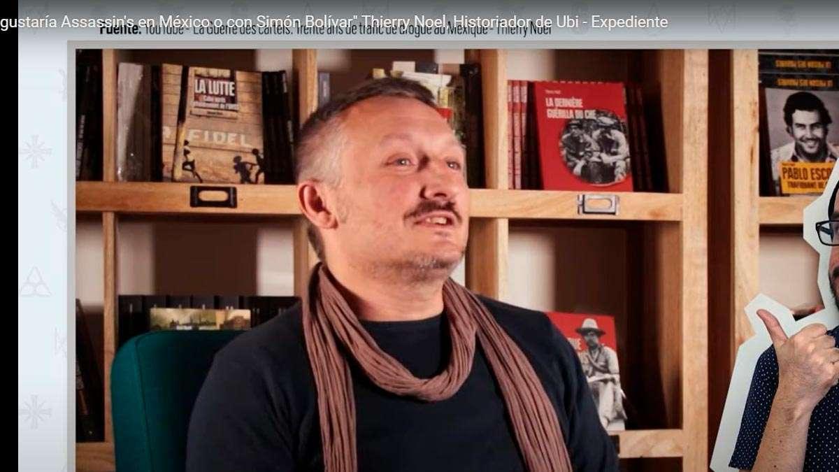 Assassin´s Creed historiador de Ubisoft