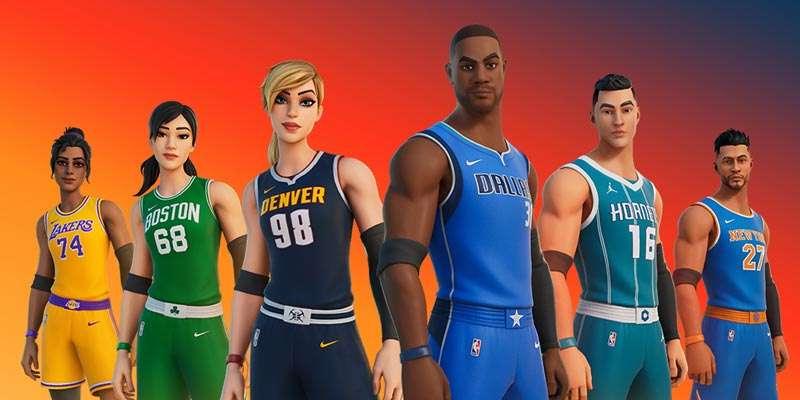 Llegan uniformes de la NBA a Fortnite