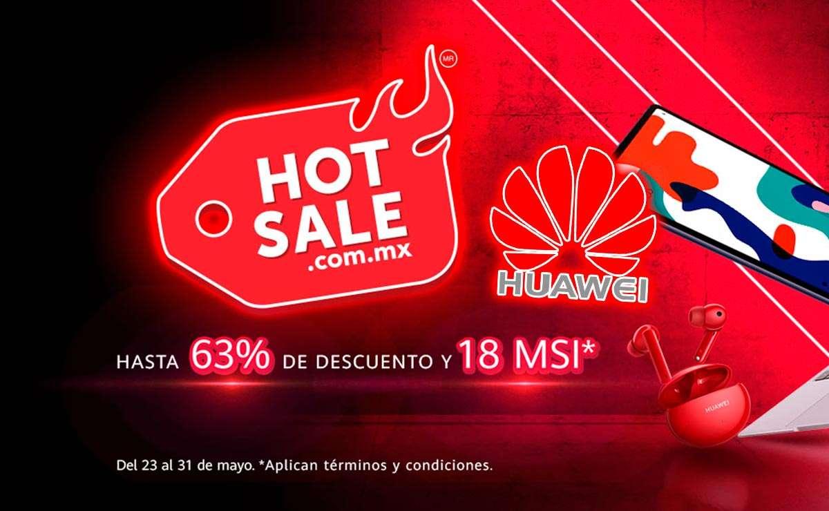 Huawei Hot Sale 2021 hasta 63% de descuento