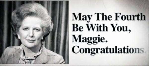 4 de mayo Margaret Thatcher