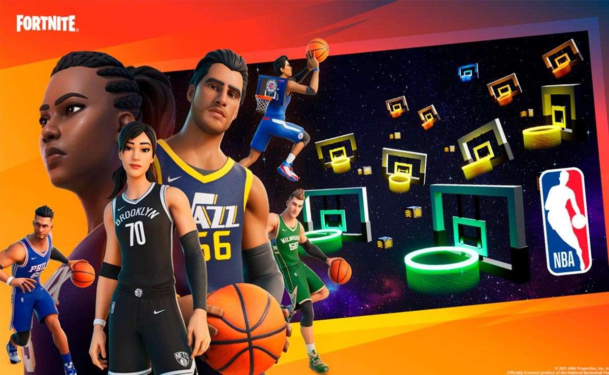NBA Modo Creativo en Fortnite