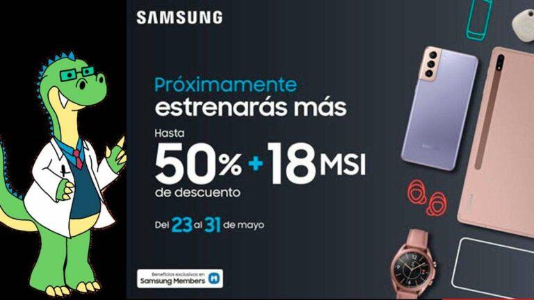 Samsung se une al Hot Sale 2021 con descuentos hasta del 50%