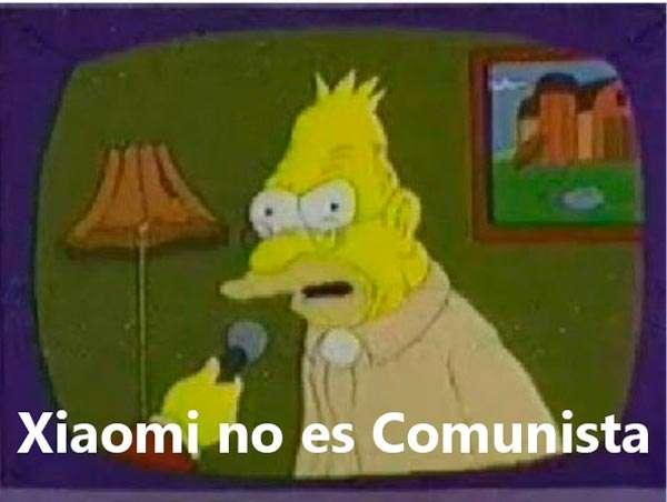 Xiomi no es comunista   Xiomi no es comunista