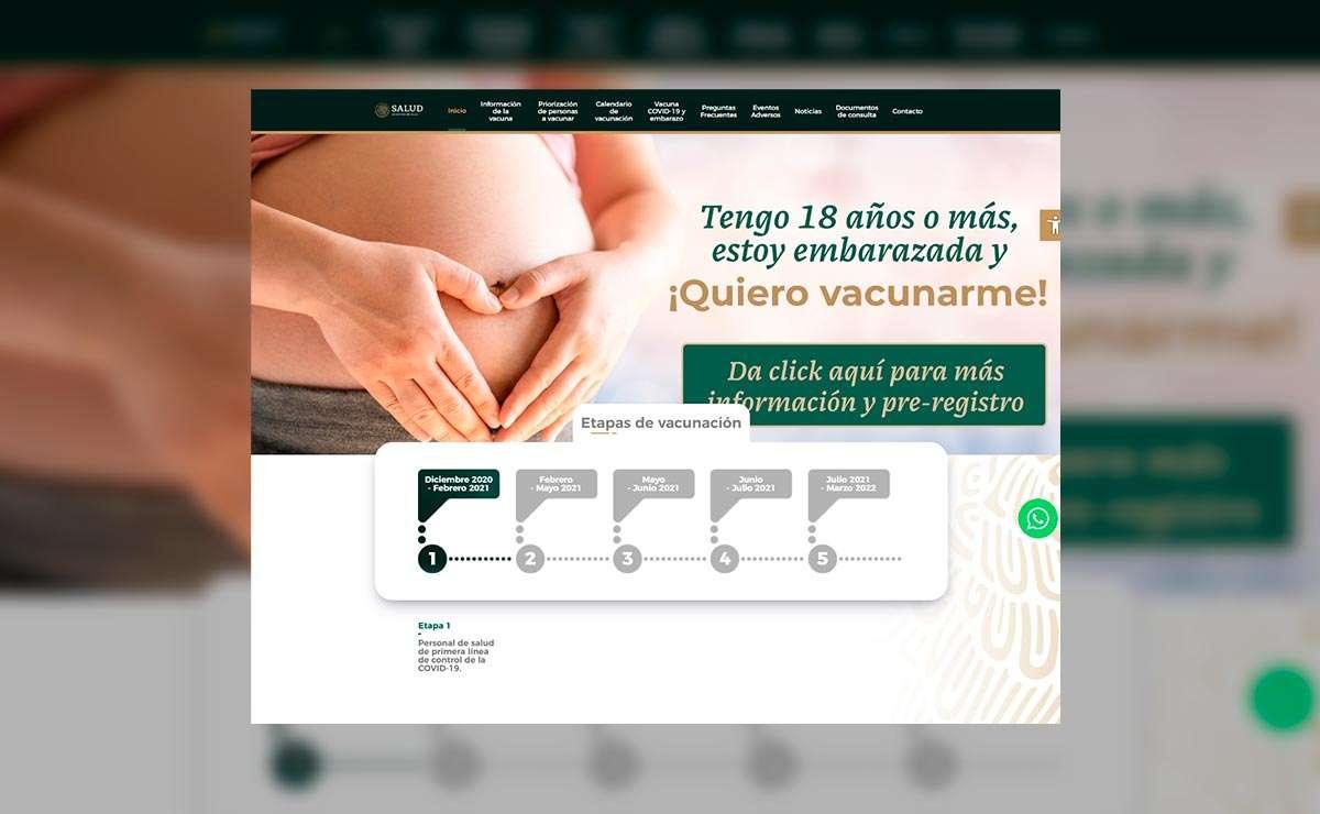 """Portal oficial """"vacunacovid.gob.mx"""" conoce cuándo te toca la vacuna"""
