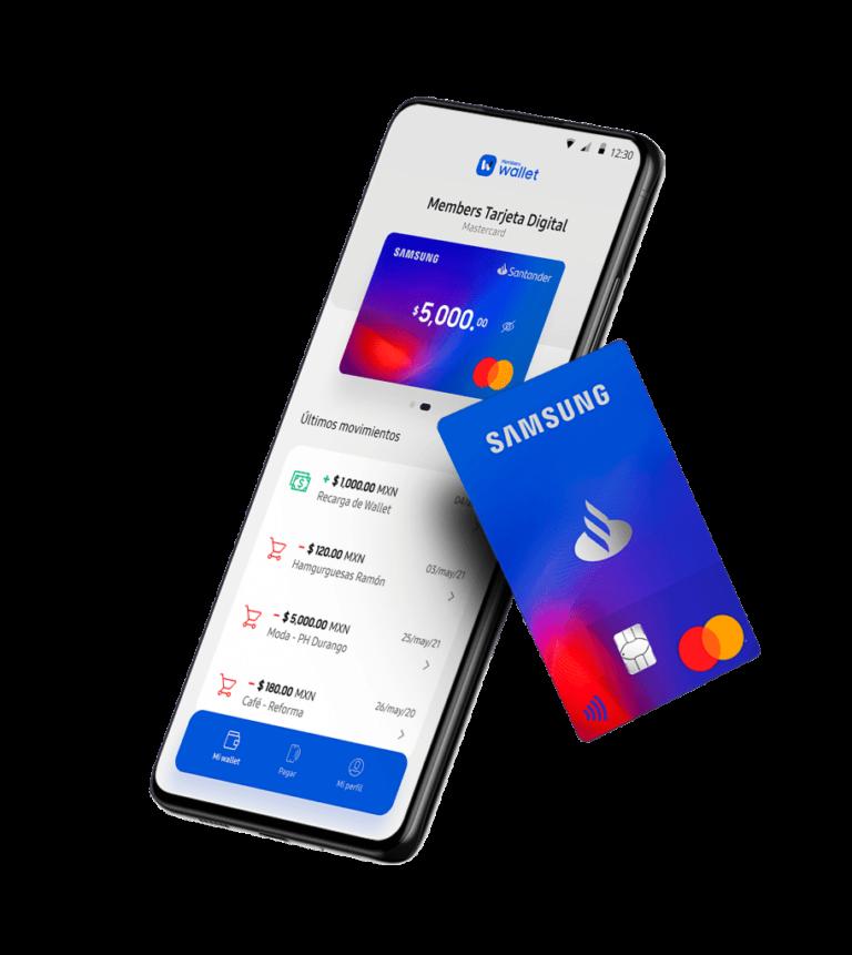 Llegó a México la targeta de débito «Samsung Members Wallet»