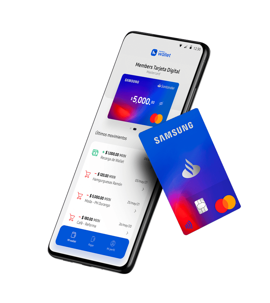 Samsung Wallet, tarjeta digital
