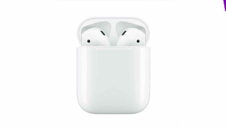 25% de descuento: Apple AirPods con Estuche de Carga