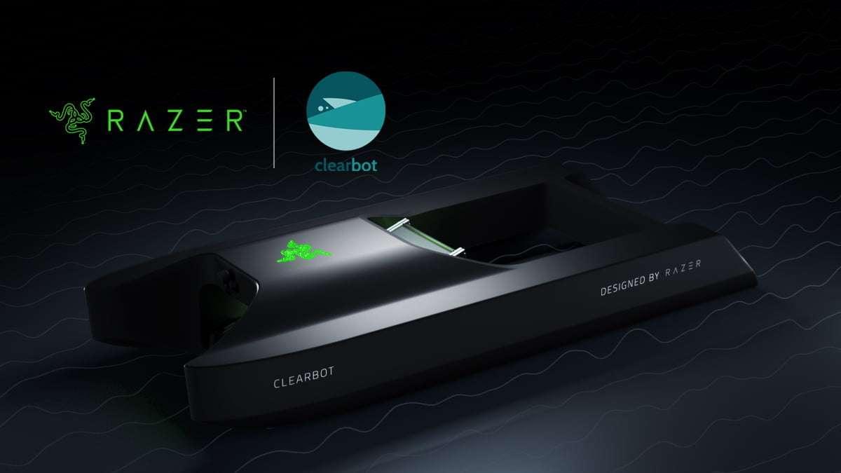 ClearBot de Razer limpia el océano