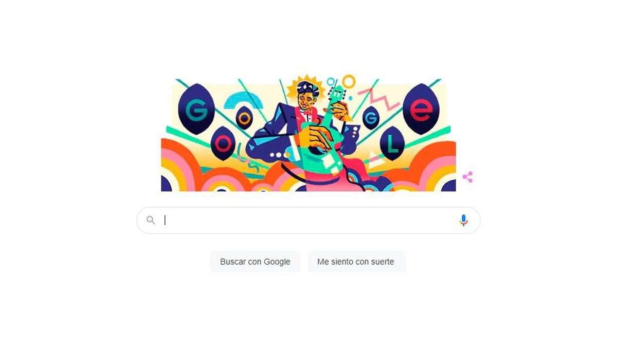 Doodle de Google, Roberto Cantoral
