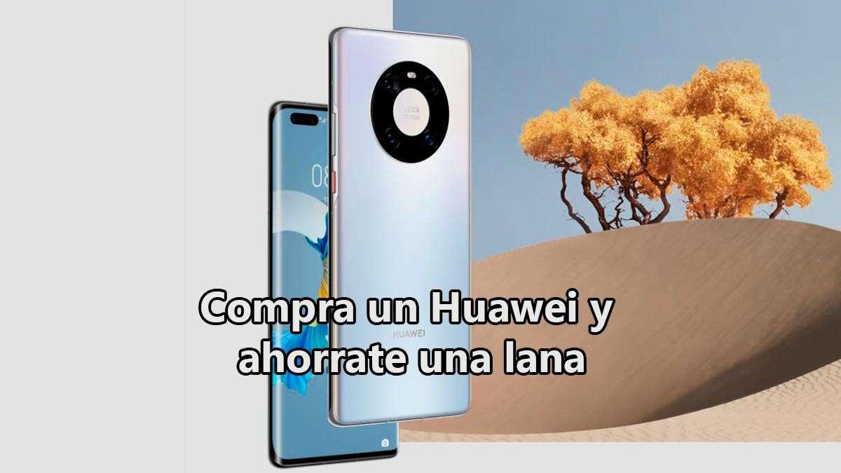 cupón de descuento Huawei